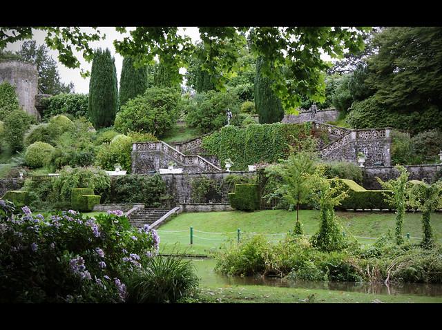 St Fagans Castle garden