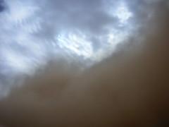 Yin & Yang (Patrick the Smith) Tags: storm weather contrast iraq middleeast yinyang duststorm fallujah troposphere alanbar sanstorm