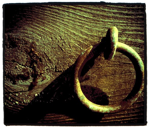 the ring on the dock