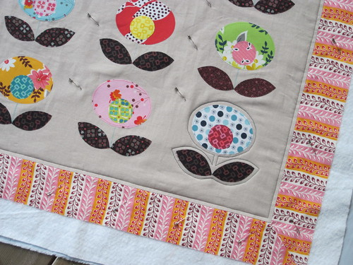 Urban Home Goods Swap - starting to quilt