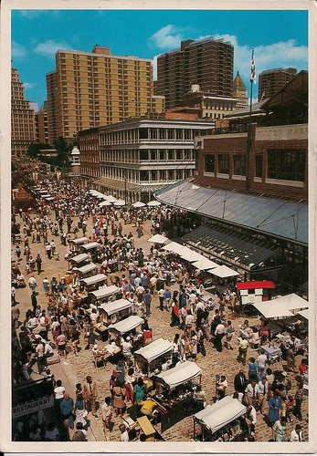 South Street Seaport-Fulton Fish Market, NYC (Postcard)