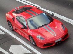 Ferrari F430 Scuderia 'BB 710' (Rupert Procter) Tags: auto italy car italian italia ride awesome mobil ferrari coche forza motor  kereta maranello tifosi  carspotting enzoferrari rwp rupertprocter scuderiaferrari ferrarispa ferraristi chasingexotics    juanchai juanchaihk