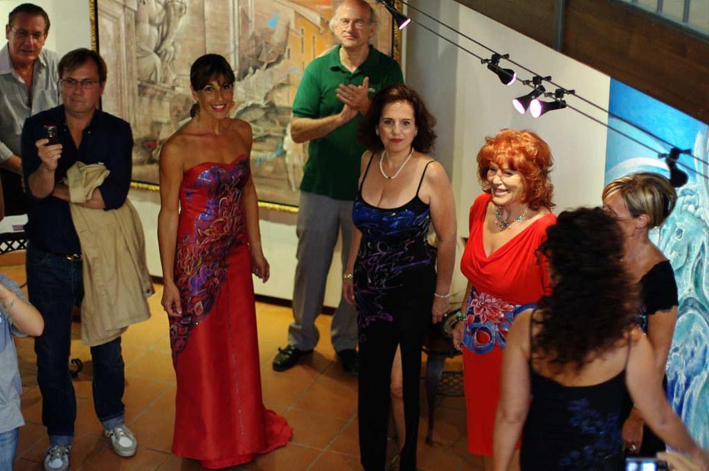 Galleria Polid'Arte Spoleto Défilé 'Vestire l'Arte'