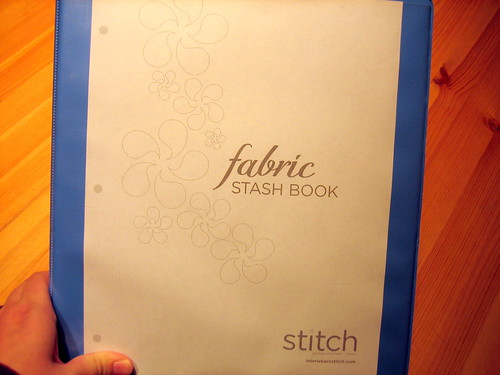 Fabric Stash book outside cover