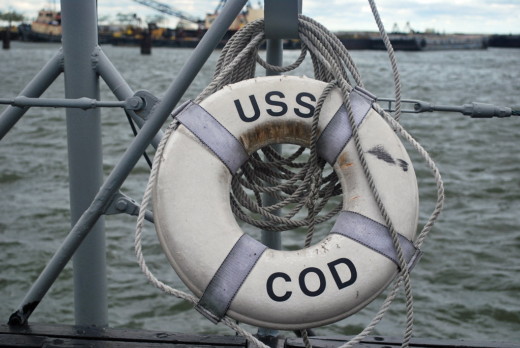 USS Cod Life Buoy