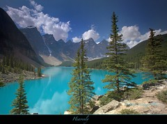 "Moraine Lake (Joalhi ""Around the World"") Tags: canada jocelyn alberta banff hidalgo morainelake   naturesfinest   mywinners abigfave theunforgettablepictures canon5dmarkii coth5"