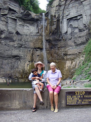 Dibs, Ma, Ollie at Taughannock