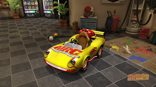 ModNation Racers for PS3: Gary and Biff Kart!