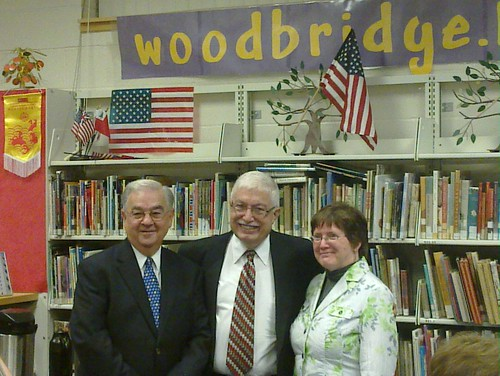 Woodbridge Superintendent, Outgoing Principal and incoming Interim Principal