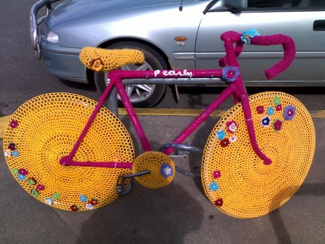 Pearly bike