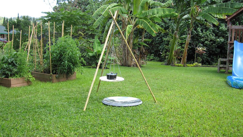 Tripod Parabola Solar Cooker