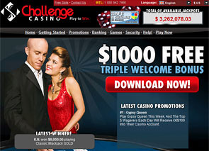 Challenge Casino Home