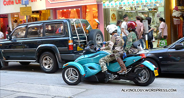 Tri-bike spotted