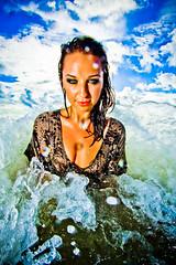Liz (eyecbeauty) Tags: ocean blue sky beach wet girl beauty florida miamibeach sobe superphotographer photographyrocks flickraward flickrestrellas artofimages bestportraitsaoi artisawoman vividstriking elitegalleryaoi mygearandmepremium