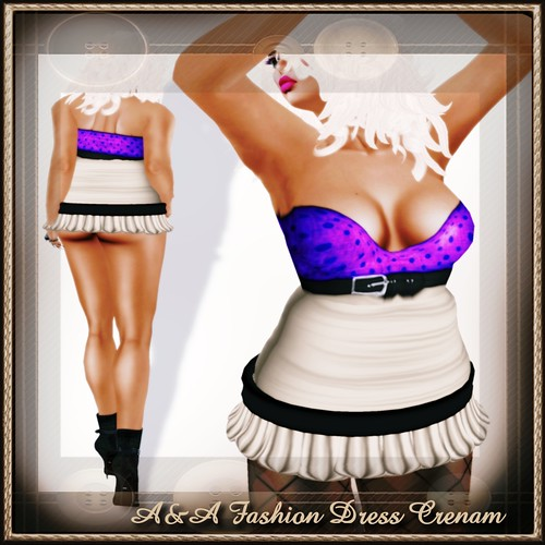 A&A Fashion Dress Cream