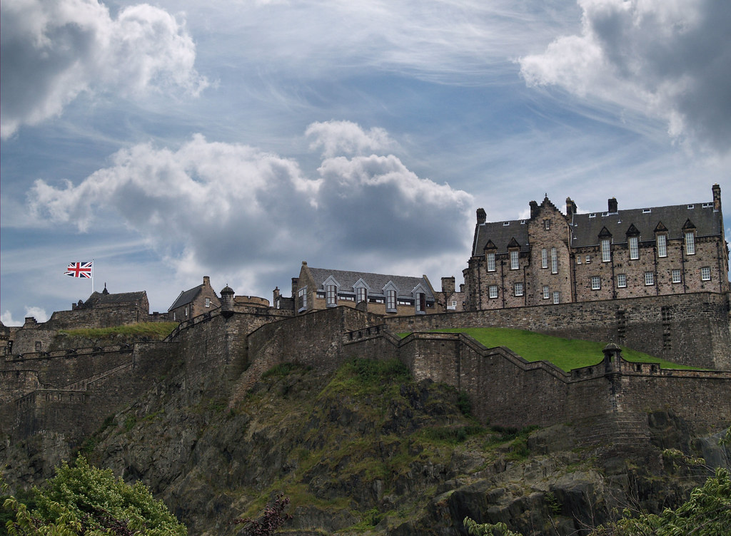View of the Castle from the Princes Street Gardens