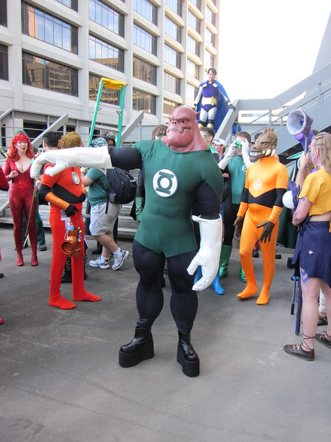 Kilowog at DragonCon 2010