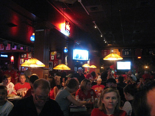 Huskers packed the Pour House