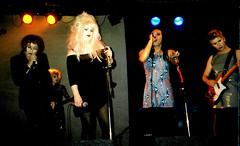 Six Inch Killaz live @ ICA 2 Oct 98 #6 (Luis Drayton) Tags: music rock trash drag glamour punk jasmine livemusic band mona holly transgender rockmusic tranny singer blonde transvestite punkrock glam luis dragqueen guitarist genderqueer rockandroll ica missk glamourpuss sixinchkillaz queercore glamourpussy monacompleine paulined hollycock jasminesalome luishatred