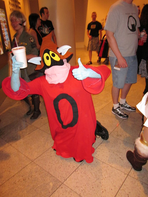 Orko from He-Man at DragonCon 2010