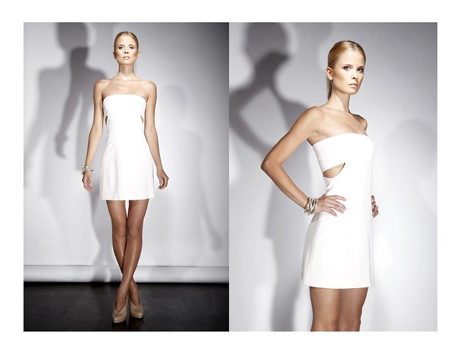 BROSE SS11 OLIVIA Strapless Cut Out Dress