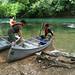 Canoeing at Barton Springs