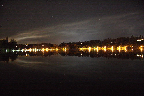 Capitol Lake at Night Saturday 11 September 2010