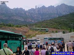 Amunt que fa pujada (UT440_132M) Tags: les de 26 el vila montserrat muntanya gtw fgc cremallera agulles monistrol turisme am5 stadler montgrs am3
