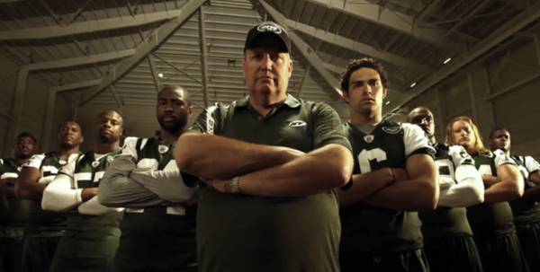 the NY jets : Hard Knocks hbo