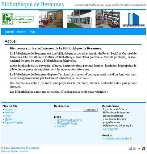 Bibliothèque de Bezannes