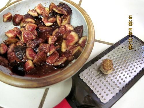 grate fresh nutmeg!