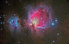 M42 Orion Nebula, NGC 1977 Running Man Nebula (Terry Hancock www.downunderobservatory.com) Tags: camera sky mountain man night wow stars photography eos pier backyard mark ngc great shed running images astro observatory telescope ii nebula astrophotography terry orion m42 astronomy imaging canon5d hancock messier ccd 1977 universe instruments amateur cosmos 1976 celestron mkii osc the astronomer teleskop astronomie byo m43 deepsky astrofotografie mi250 canoneos5dmarkii astrophotographer Astrometrydotnet:status=solved Astrometrydotnet:version=14400 Astrometrydotnet:id=alpha20100992233476