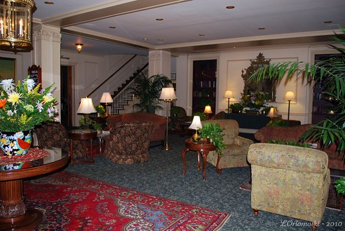 Lobby of the Hawthorne Hotel