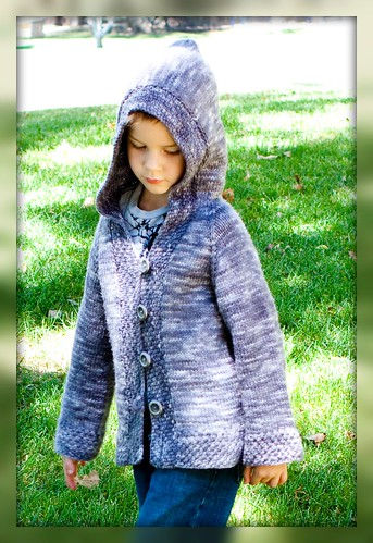The Neverland Hoody *PETER* Knitting Pattern