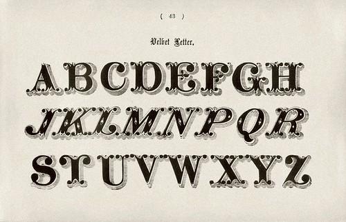 018-Alfabeto Velbet-Examples of Modern Alphabets… 1913- Freeman Delamotte