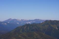 石狩岳越しの表大雪