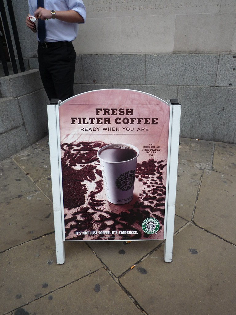 Starbucks fresh filter coffee