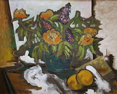 Peonies by Georges Braque