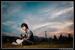 Daisuke Nakamura /   (Ilko Allexandroff / ) Tags: light portrait sky people music slr art umbrella canon dark photography google interesting nikon emotion guitar good song awesome flash explore more most kobe singer instrument mostinteresting osaka dslr    sannomiya      naniwa ilko  sb26 50d    strobist canon50d  580exii canon580exii  beautyshoots allexandroff  imghp