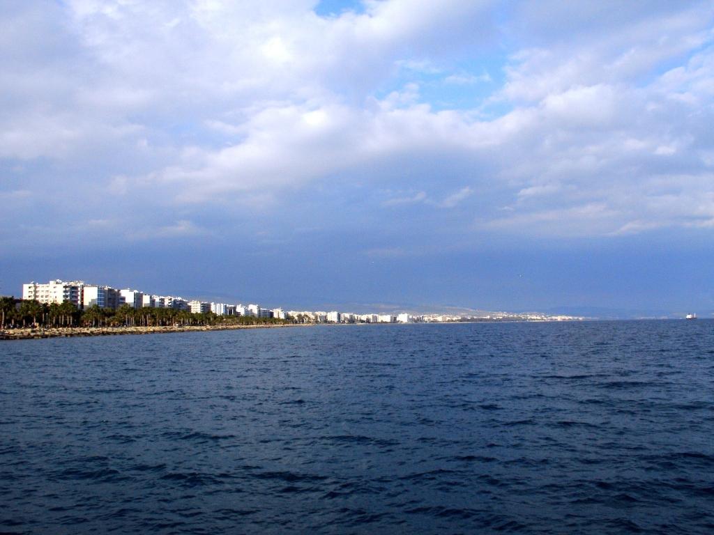 Limassol shore line