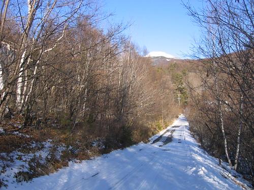 新年の別荘地と縞枯山 08.1月 by Poran111