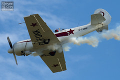 G-FUNK - 852908 - Aerostars Team - Yakovlev Yak-50 - Duxford - 100905 - Steven Gray - IMG_8023