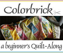 {Colorbrick} a beginner's Quilt-Along