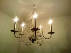 Hung Chandelier