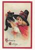 Halloween Vintage Reprint Postcard (crayolamom) Tags: holiday halloween vintage postcard oldfashioned reprint