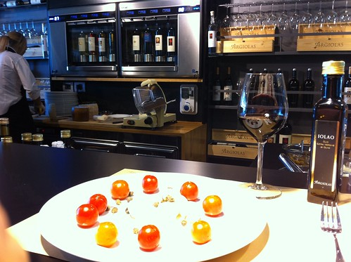 Argiolas Wine Bar at Cagliari Airport