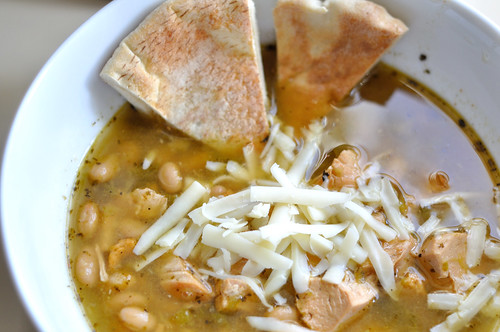 Spicy White Chicken Chili