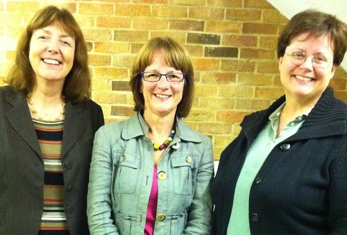 Helen Pighills (centre) wins Northcourt by-election, Abingdon