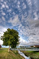 Le Pont Neuf (Olivier Rapin) Tags: bridge suisse sony riviere sigma ciel pont alpha 1020mm 700 neuf arbre hdr payerne vaud broye romandie