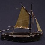 """<b>Baleen Ship</b><br/> Unknown, Eskimo American (ivory, ca. 1969) LFAC#2008:01:53<a href=""""http://farm5.static.flickr.com/4144/4996994106_cc7aca1dcc_o.jpg"""" title=""""High res"""">∝</a>"""